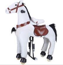 Plush horse ride-on mechanical walking horse