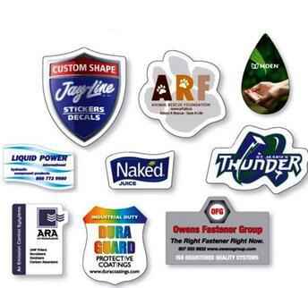 custom shape stickers wall stickers window stickers