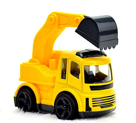 Metal Toy Truck 1 64 And Trailer Metal Excavator Toy
