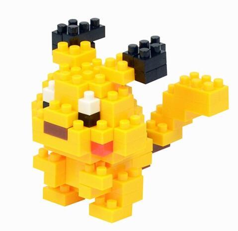 fun bricks kids nano building blocks pokemon lepin diy