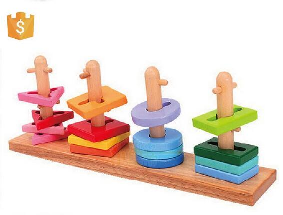 Educational Wooden Toy Of Building Blocks Kids Educational Toy Wooden