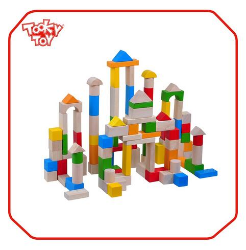 Education Custom Large Display Toy Wooden Building Block