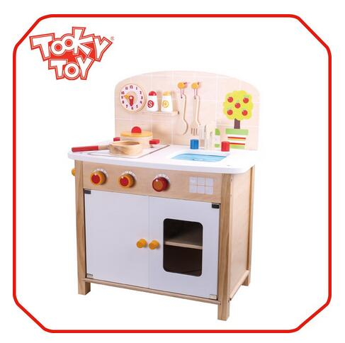 New diy kids play kitchen toy set, wooden kitchen toy, kitchen toy