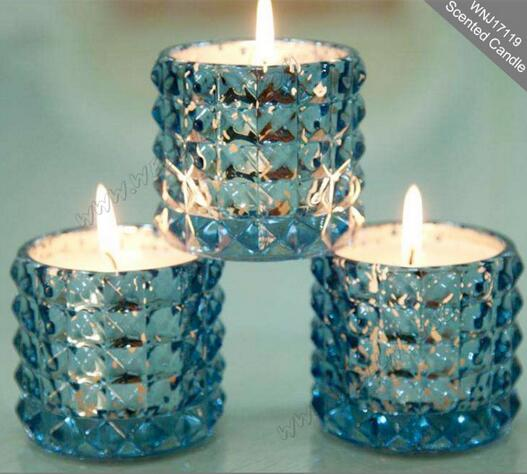 Luxury Glass Jar Scented Soy Wax Candle