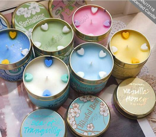 High end home fragrance scented candles for Different brands of candles