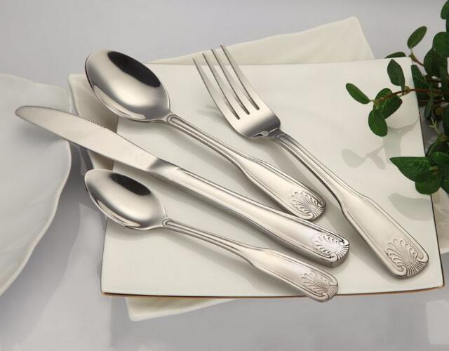 Special Shape Handle Stainless Steel Cutlery Set
