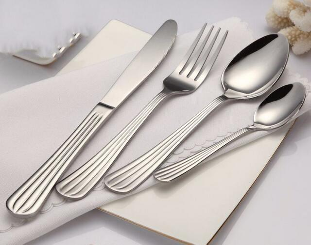 Easy Cleaning And Washing Stainless Steel Cutlery