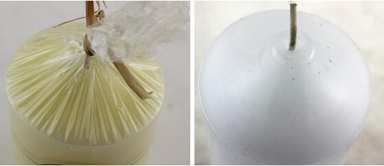 100% cotton wick scented church votive candle