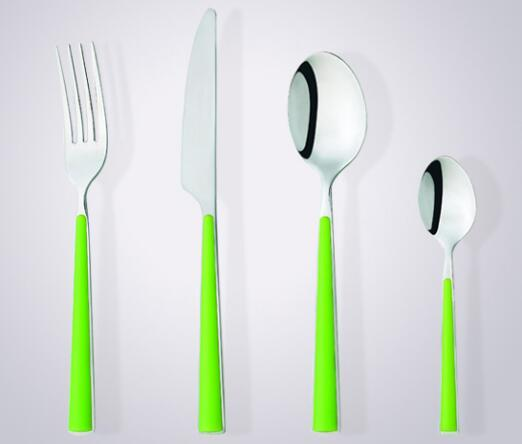 Attractive style and durable 4pcs cutlery sets
