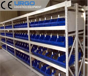 Factory steel storage rack warehouse shelving for commodities storage