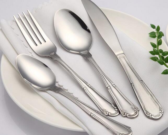 Manufacturer 4p Stainless Steel Cutlery Set