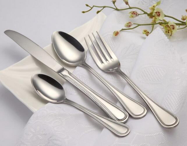 High Quanlity Stainless Steel Flatware Cutlery Set