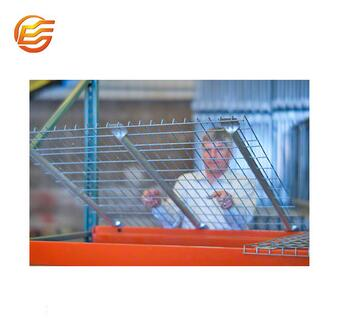 Industrial warehouse use powder coat wire mesh decking panels for shelving