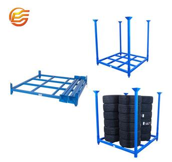 Factory price heavy duty wholesale storage stainless steel shelving tire rack