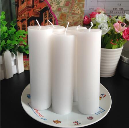 Top Quality  Paraffin Wax Church Pillar Candle