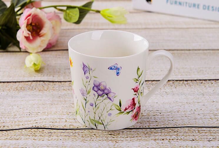 Manufacturer Luxury Design Ceramic Tea Mug Sets