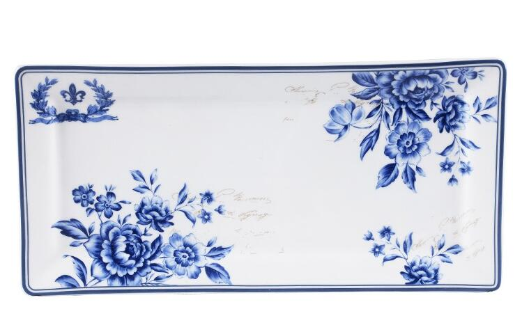 Retangle Porcelain Plate With Competitive Prices