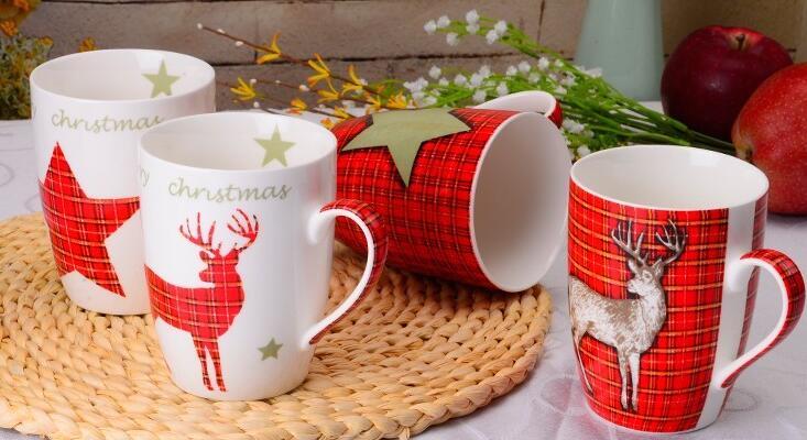 12OZ  Magic Christmas Series Ceramic Mug
