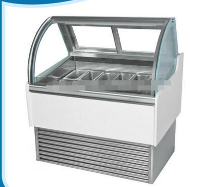 Multi-climate display ice cream refrigerator/Refrigerant ice cream cooler/Digital temperature controller ice cream chiller