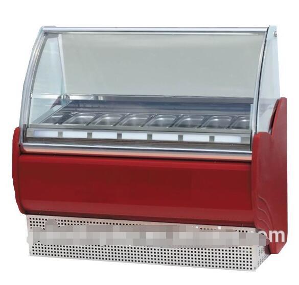 High Quality Single Temperature Gelato Frozen Freezer Ice Cream Freezer