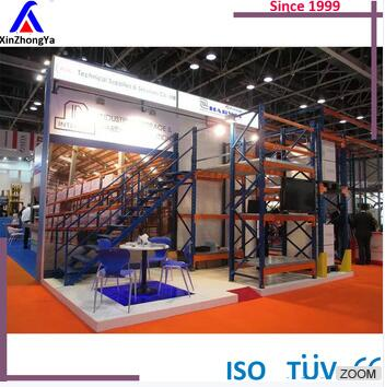 china drive in galvanized metallic storage racking system