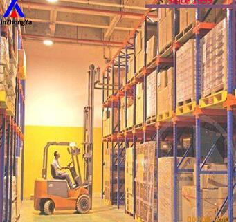 china cold rolled steel drive in storage racking system