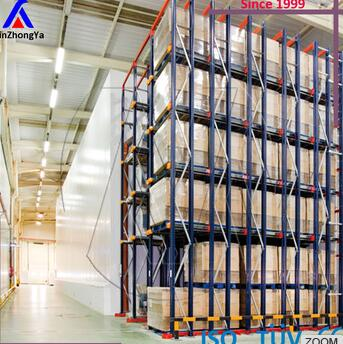 china cold rolled steel drive in warehouse racking system
