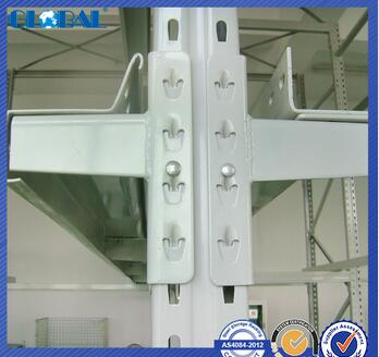 Drive in racking type industrial steel shelving/drive in racking system