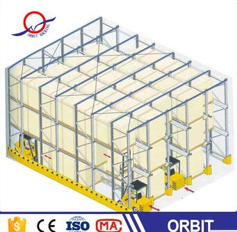 super quality latest drive in heavy duty pallet racking
