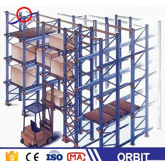 direct q235 cold- rolled steel drive in racking