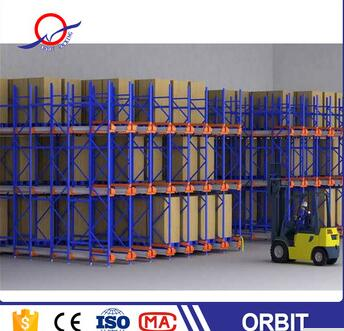 bottom price China supplier selective drive in pallet racking