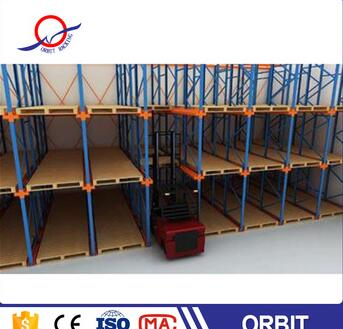 low price made China cold room drive in pallet racking