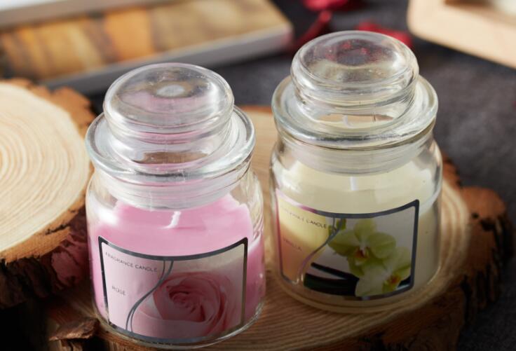 Luxury  Smokeless Glass Jar Candle Wholesale