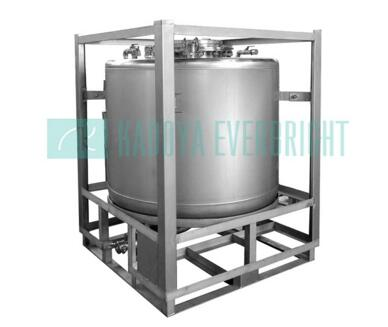 Customize stainless steel/carbon steel offshore cylindrical IBC tanks