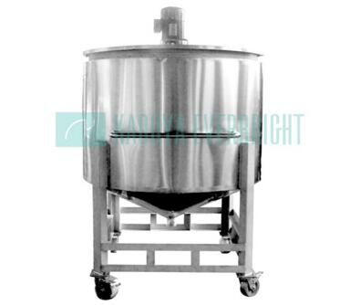 800L stainless steel jacketed and insulated mixing tanks