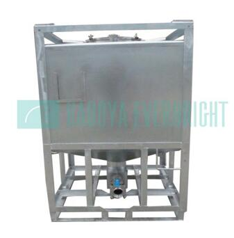Industry 1000L stainless steel insulated ibc tank