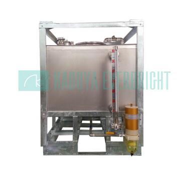 1000L stainless steel diesel fuel storage tank