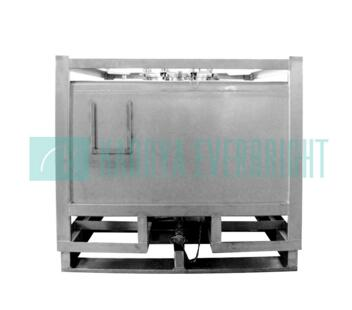 KDE-AW-1000L Custom sized 1000L stainless steel ibcs