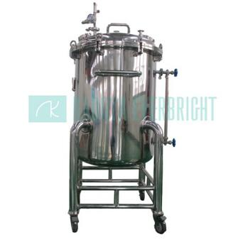 Movable industry stainless steel chemical pressure tank