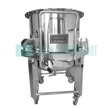 Customize 200L stainless steel round pharmaceutical/sanitary tanks with weighing