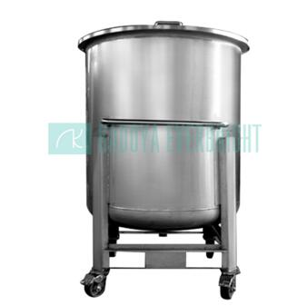800L stainless steel removable open top IBC tank
