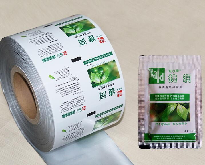 Good sealing laminating automatic film roll of farm products packaging bag for insecticide pesticide