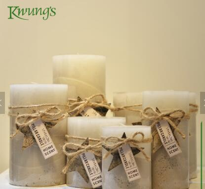 Decorative Three Layers Scented Pillar Candle