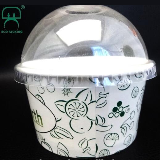 Ice cream paper cup, ice cream tubs prices, customized ice