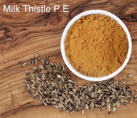 capsule ingredient milk thistle extract for liver cleanse