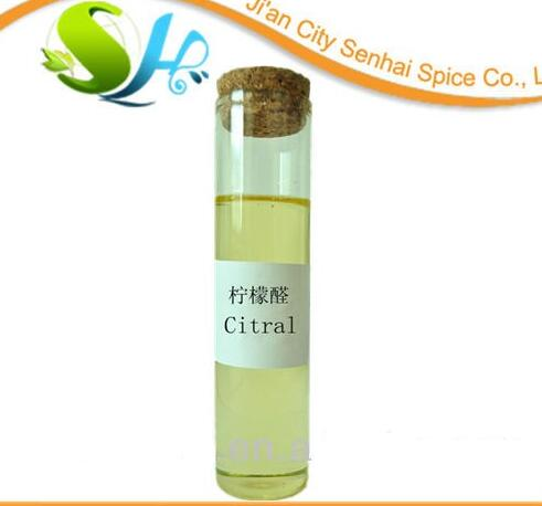 ISO Certificated Factory Supply Natural Pure Citral for food flavor enhancer