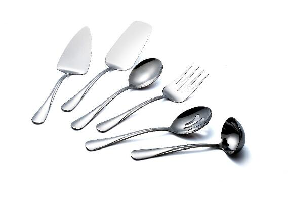 Stainless steel American style cutlery set