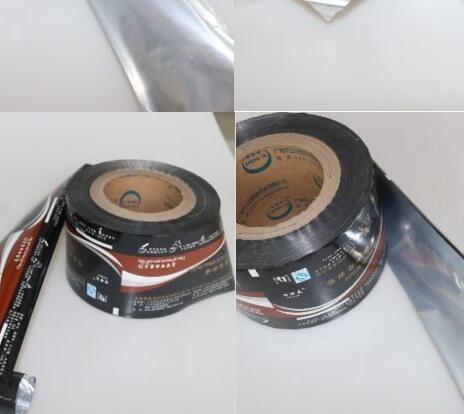 500ml aluminum foil laminated roll film polyester film roll/plastic film roll for water sachet 500ml/bopp laminating roll film