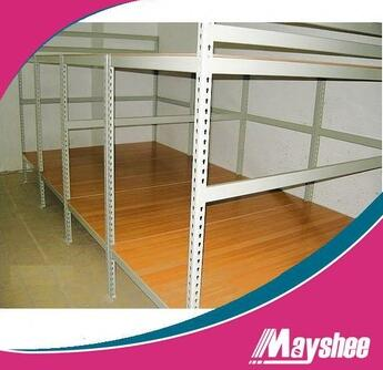 Metal foldable slotted angle shelving