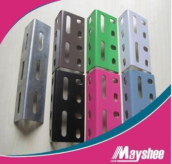supermarket metal angle shelvings slot angle rack shelf